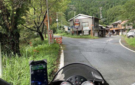 #078 モトグッツイV11 キャンプツー(静岡・長野・群馬)南アルプス分断国道 その2
